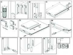 Уплътнение за врата с падащ механизъм