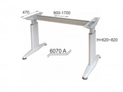 Adjustable office modul 6070 A with a beam